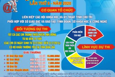 Phát động Cuộc thi sáng tạo thanh thiếu niên nhi đồng tỉnh Đắk Lắk năm 2020